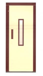 Полуавтоматична врата